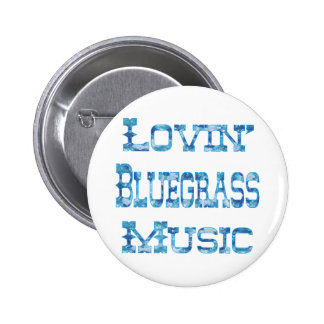 Bluegrass Music Button