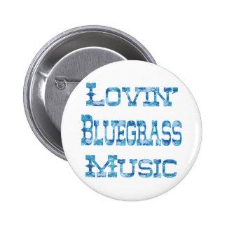 Bluegrass Music Button