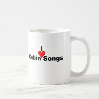 Bluegrass Music I heart Cabin Songs Mugs