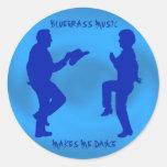 BLUEGRASS MUSIC MAKES ME DANCE-STICKER