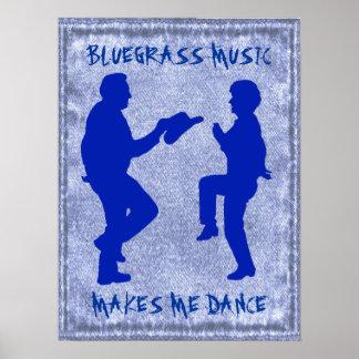 BLUEGRASS MUSIC-POSTER POSTER