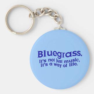Bluegrass: No apenas música, una manera de vida Llavero Redondo Tipo Pin