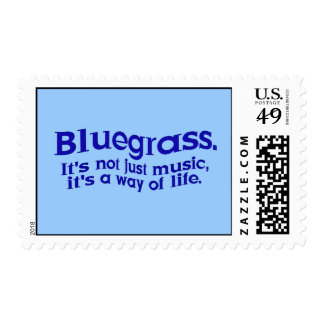 Bluegrass: No apenas música, una manera de vida Timbre Postal