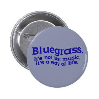 Bluegrass: Not Just Music, a Way of Life Pinback Button