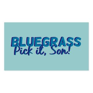 Bluegrass: Pick it, Son! Business Card