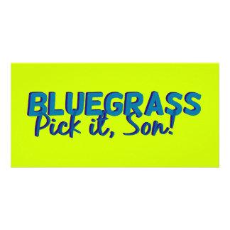 Bluegrass: Pick it, Son! Card