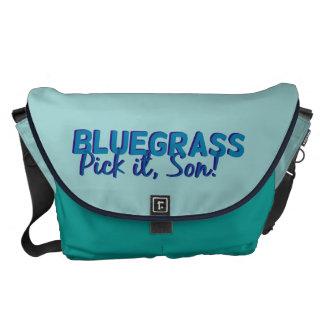 Bluegrass. Pick it Son! Messenger Bags