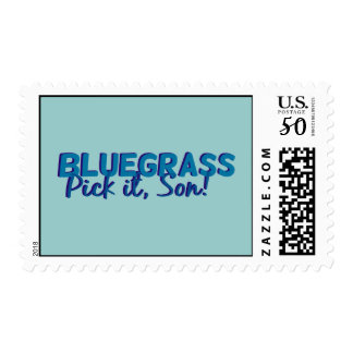 Bluegrass: Pick it, Son! Postage