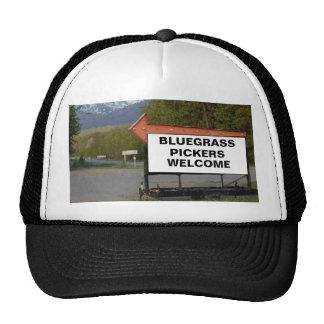 """BLUEGRASS PICKERS WELCOME"" Trucker Hat"