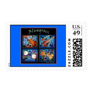 BLUEGRASS Postage Stamps