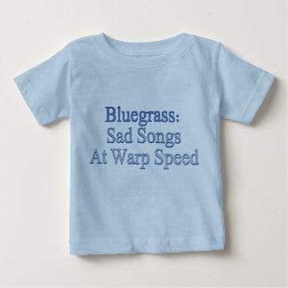 Bluegrass: Sad Songs At Warp Speed Baby T-Shirt