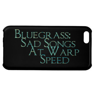 Bluegrass: Sad Songs At Warp Speed Case For iPhone 5C