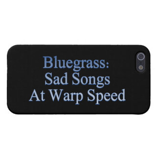 Bluegrass: Sad Songs At Warp Speed Case For iPhone SE/5/5s