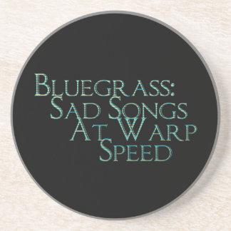 Bluegrass: Sad Songs At Warp Speed Beverage Coaster