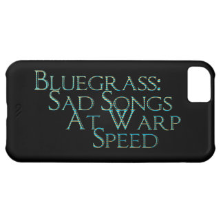 Bluegrass: Sad Songs At Warp Speed Cover For iPhone 5C