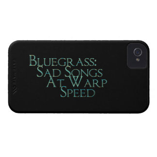 Bluegrass: Sad Songs At Warp Speed iPhone 4 Cover