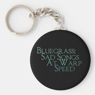Bluegrass: Sad Songs At Warp Speed Keychain