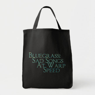 Bluegrass: Sad Songs At Warp Speed Tote Bag