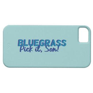 Bluegrass. Sélectionnez-le, fils ! iPhone SE/5/5s Case