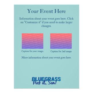 Bluegrass Show or Jam Session Flyer