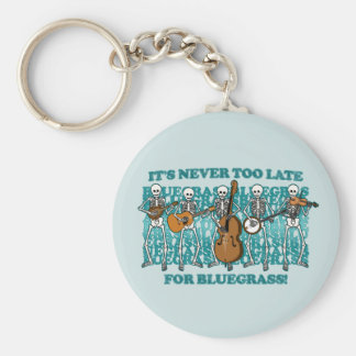 Bluegrass Skeletons Keychains
