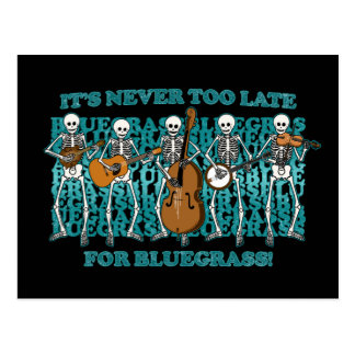 Bluegrass Skeletons Postcard