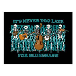 Bluegrass Skeletons Postcards