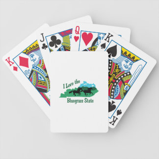 Bluegrass State Bicycle Playing Cards
