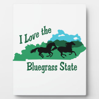 Bluegrass State Photo Plaques