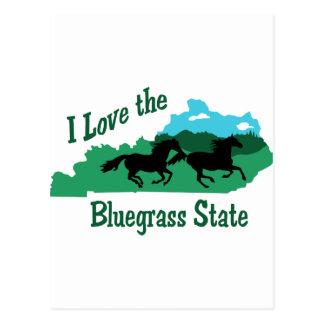 Bluegrass State Postcard
