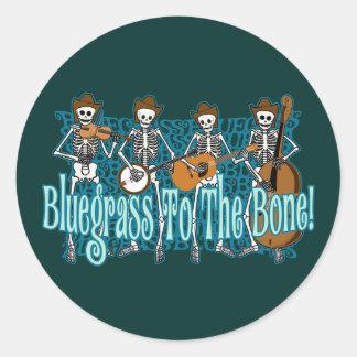 Bluegrass To The Bone Stickers