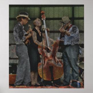Bluegrass Trio Poster