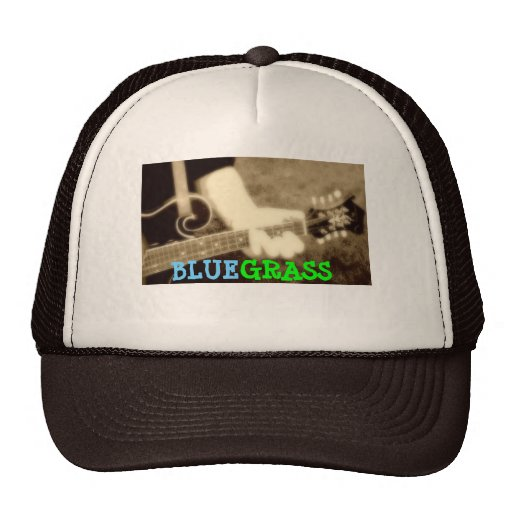 Bluegrass Mandolin Trucker Hat