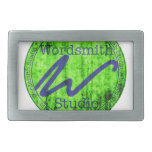 Bluegreen WSS Logo Rectangular Belt Buckles
