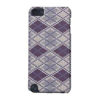BlueGrey Argyle Knit iPod Touch 5g iPod Touch (5th Generation) Cover