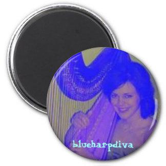 blueharpdiva magnet