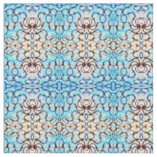 Blueheart Mosaic Fabric