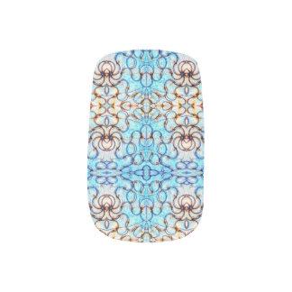 Blueheart Mosaic Minx Nail Wraps