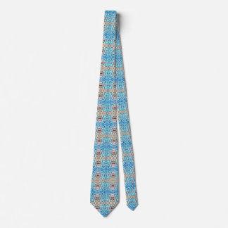 Blueheart Mosaic Neck Tie