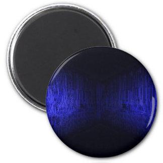 bluehorizon - electronic circuit board fridge magnet