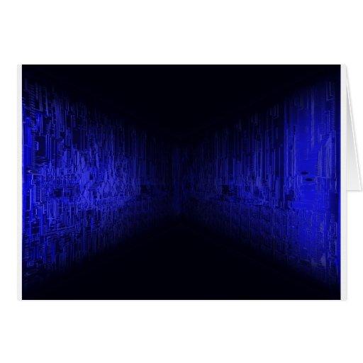 bluehorizon - placa de circuito electrónica felicitaciones