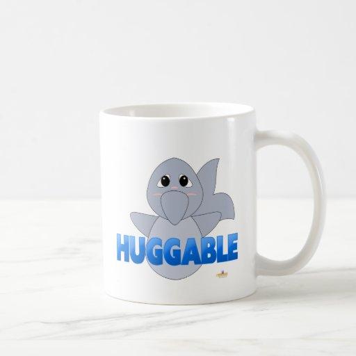 BlueHuggableHuggableDolphin Taza Clásica