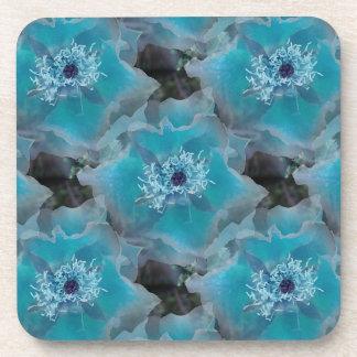 Blueish - Cork Coaster