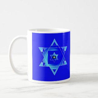 Blueish illusion. coffee mug