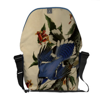 Bluejay Bird Bag Messenger Bags