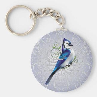 Bluejay Day Keychain