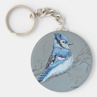 'Bluejay' keychain