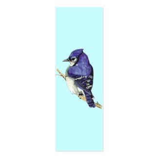 Bluejay Mini Bookmark Mini Business Card