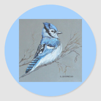 'Bluejay' stickers