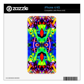BlueLillyLike Skin For The iPhone 4S